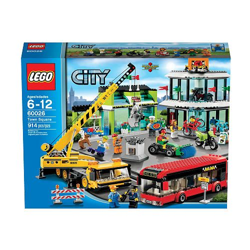 lego city town square instructions