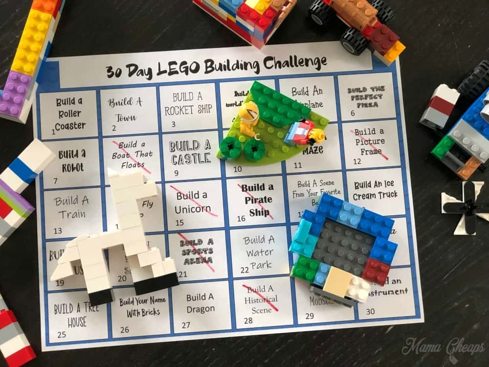 lego free building instructions