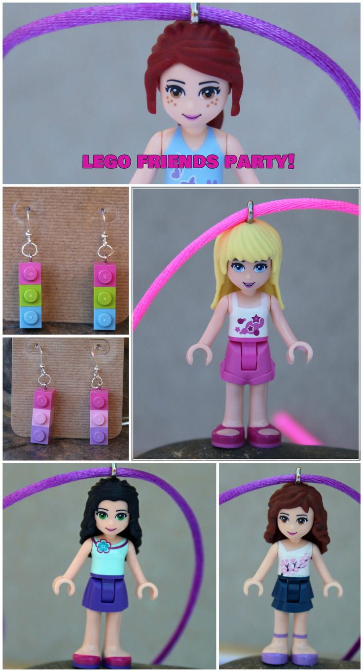 lego friends birthday party instructions