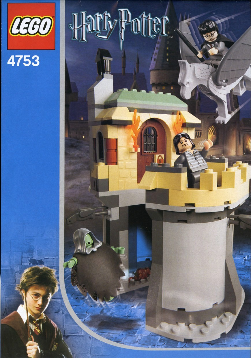 lego harry potter instructions
