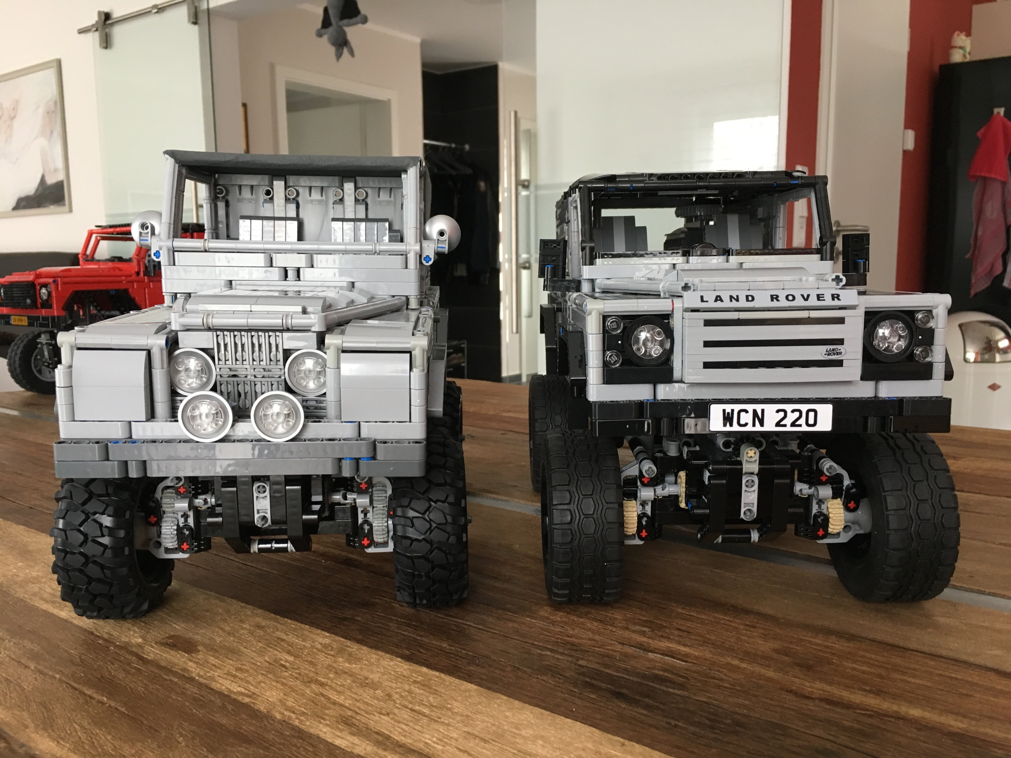 lego land rover instructions