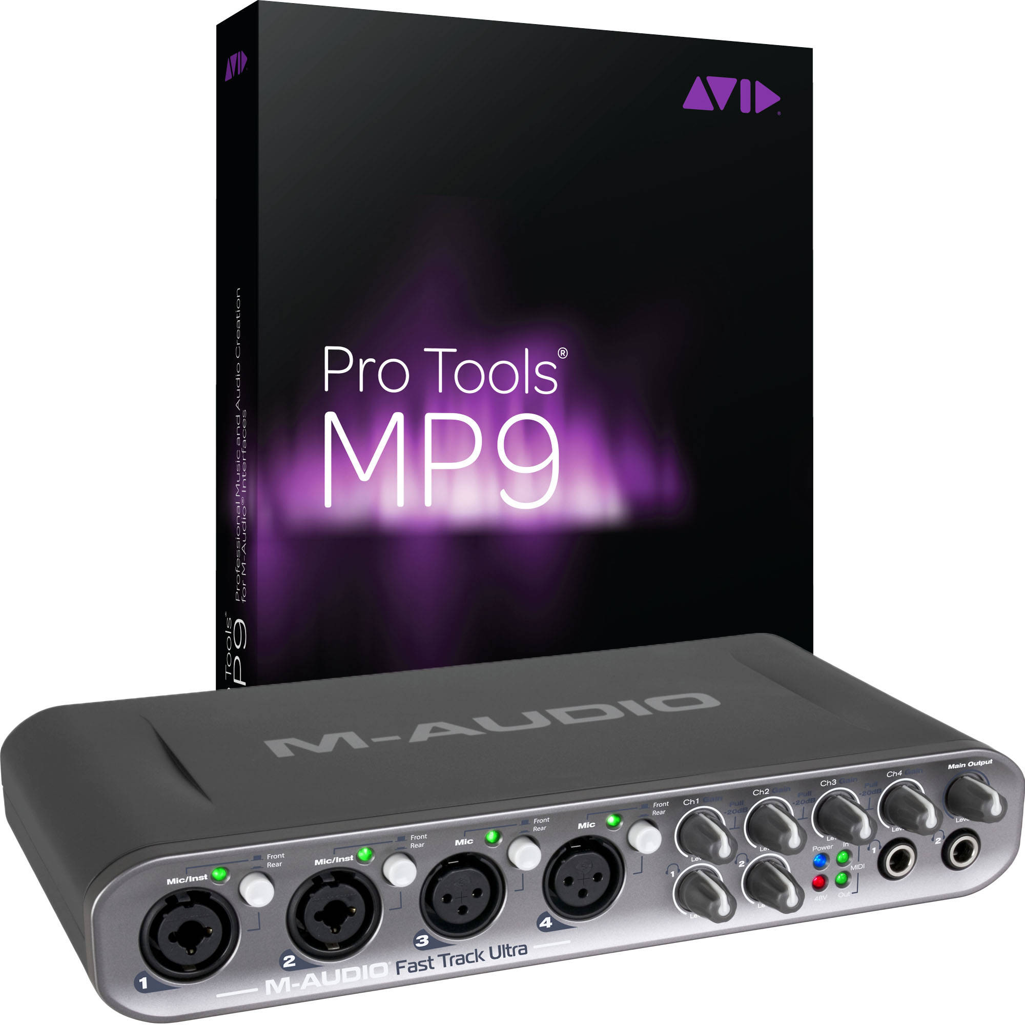 m audio fast track pro instructions