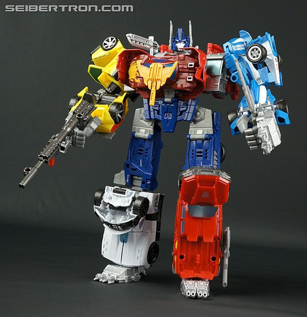 optimus prime combiner wars instructions