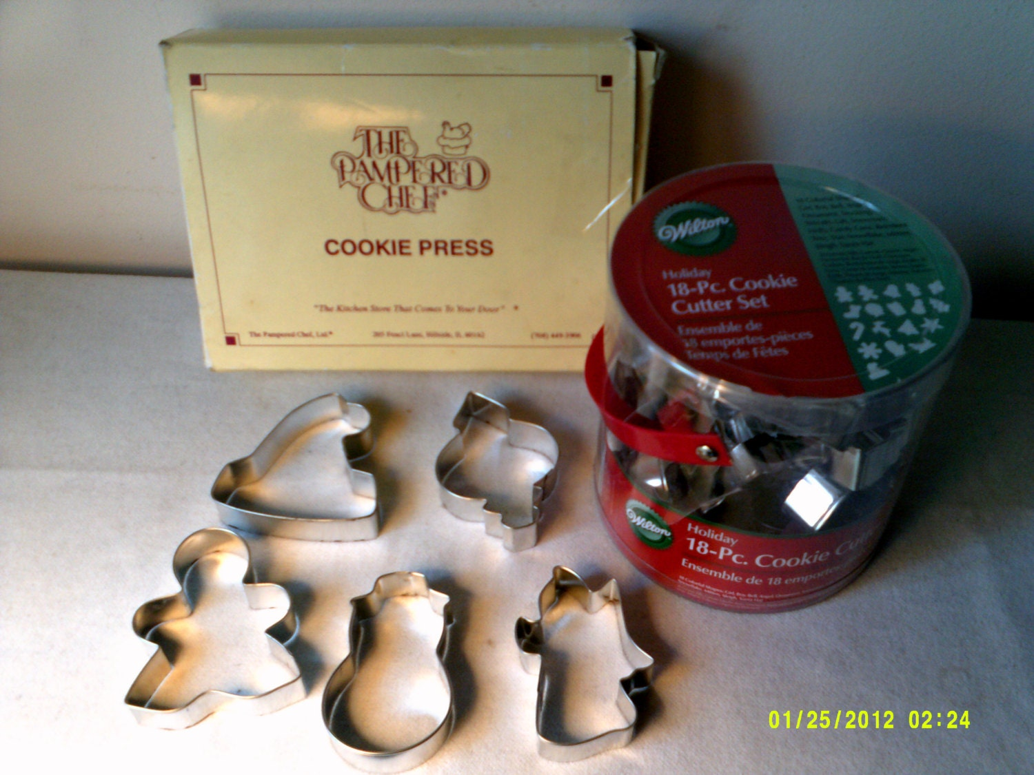 pampered chef cookie press instructions