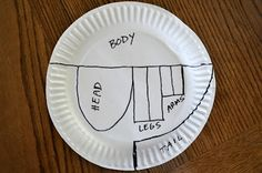 paper plate dinosaur instructions