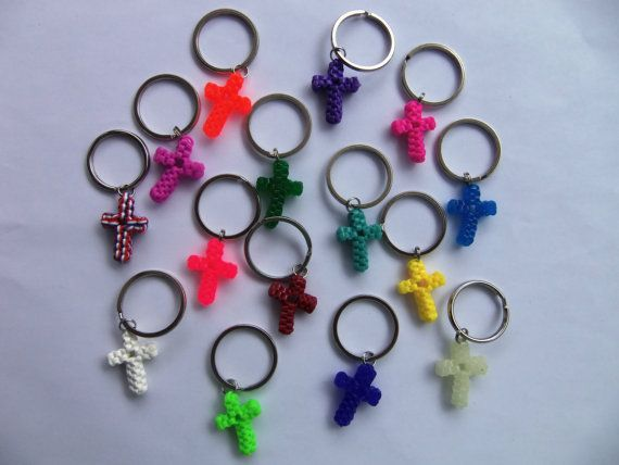plastic string keychains instructions