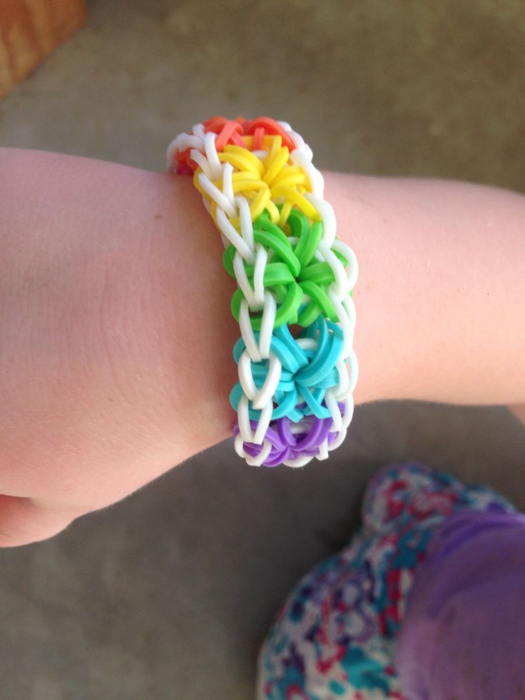 rainbow loom bands instructions