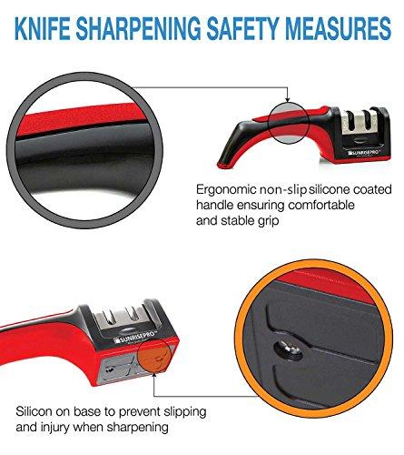 samurai pro knife sharpener instructions