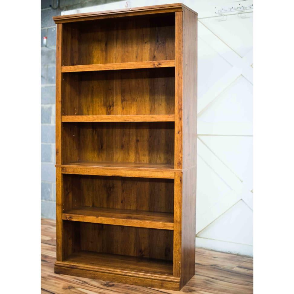 sauder 5 shelf bookcase instructions