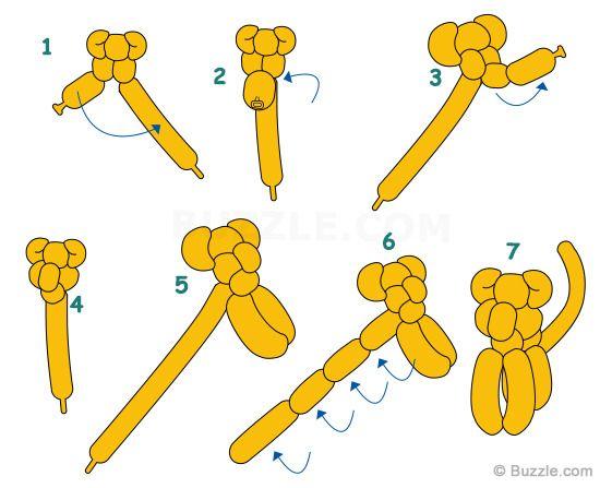 simple balloon animal instructions