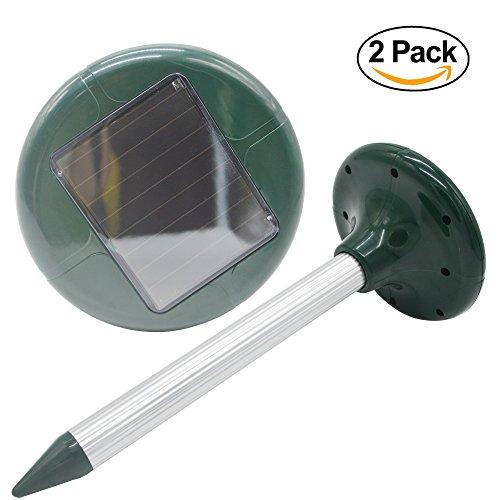 solar mole repeller instructions