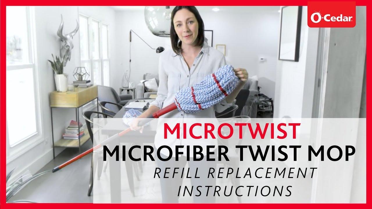 vileda micro twist mop instructions
