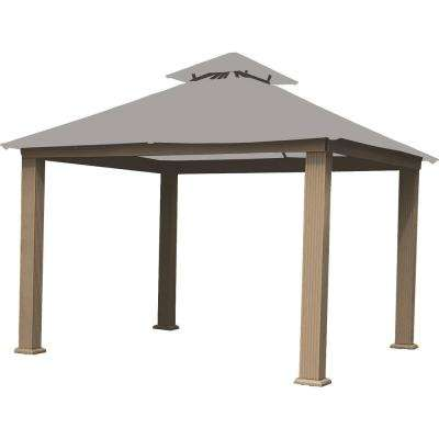 yardistry wood gazebo with aluminum roof instruction manual